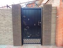 кованые ворота (1)