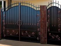 кованые ворота (10)