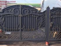 кованые ворота (11)