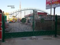 кованые ворота (13)