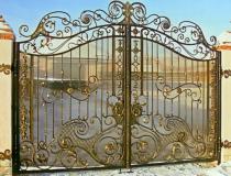 кованые ворота (14)