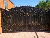 кованые ворота (15)