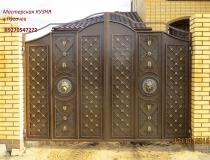 кованые ворота (16)