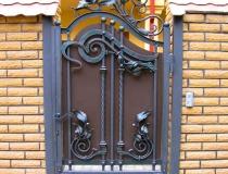 кованые ворота (17)