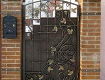 кованые ворота (19)