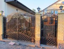 кованые ворота (22)
