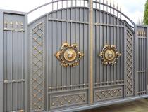 кованые ворота (23)