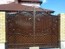 кованые ворота (24)