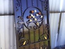 кованые ворота (25)