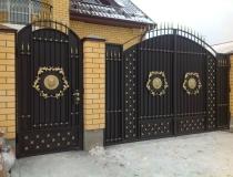 кованые ворота (3)