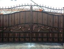 кованые ворота (5)