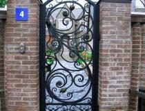 кованые ворота (6)