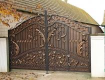 кованые ворота (7)