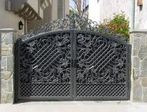 кованые ворота (8)
