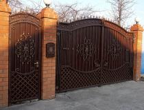 кованые ворота (9)